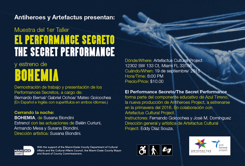 Promotional Flyer of the event. It includes general information about the event.
